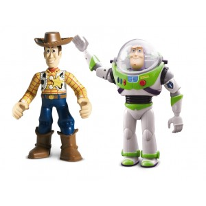 TOY STORY-WALKIE TALKIE BUZZ & WOODY