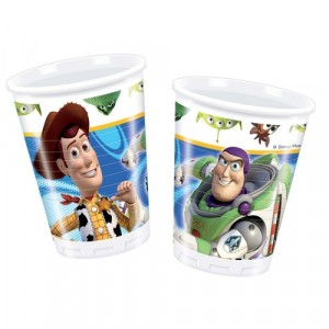 TOY STORY PLASTIC CUPS 200ML 10CT