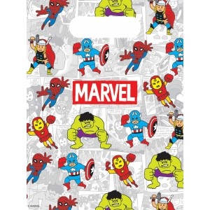 AVENGERS TEAM POWER PARTY BAGS 6CT