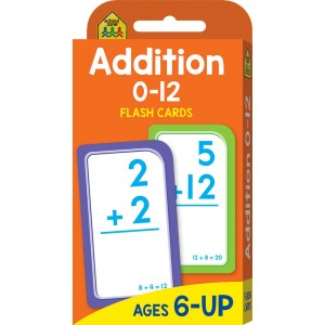 FLASH CARDS-ADDITION 0-12