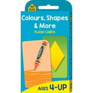 FLASH CARDS-COLOUR SHAPES AND MORE