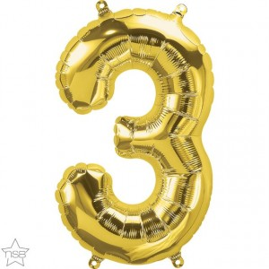 16 IN GOLD NUMBER 3 AIR FILLED 1CTP