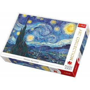 TREFL-1000 PC PUZZLE ART COLLECTION STARRY NIGHT