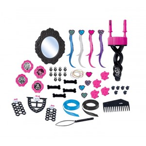 MONSTER HIGH TOTAL HAIR STYLE