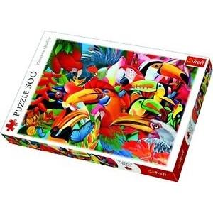TREFL-500 PC PUZZLE COLOURFUL BIRDS