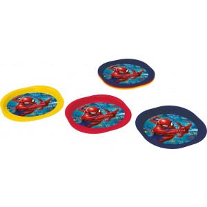 SPIDERMAN 3 PCS PICNIC PP PLATE SET