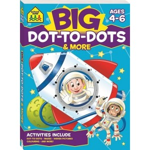 WORKBOOKS-BIG DOT-TO-DOTS ACTIVITY BOOK