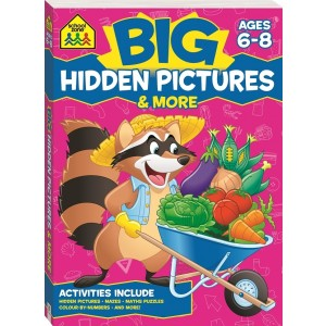 WORKBOOKS-BIG HIDDEN PICTURES ACTIVITY BOOK