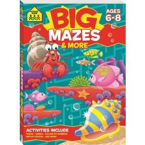 WORKBOOKS-BIG MAZES ACTIVITY BOOK