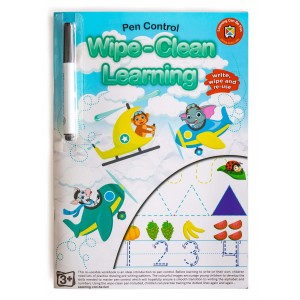 WIPE-CLEAN LEARNING PEN CONTROL