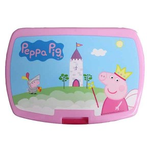 PEPPA PIG JR LATCH 2 SANDW BX