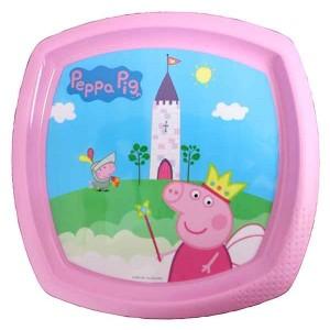 PEPPA PIG SHAPED PLATE
