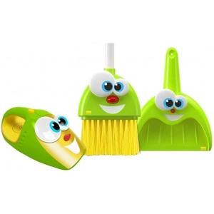 INFINI FUN BROOM,VACUUM AND DUSTPAN