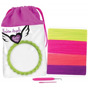 FASHION ANGELS-DARN YARN BOW HEADBAND