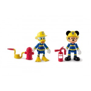 FIRE FIGHTERS MMCH PACK 2 MICKEY+DONALD EMERGENCY