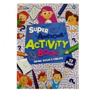 KIDS PAPER-ACTIVITY BOOK 72 SHEET