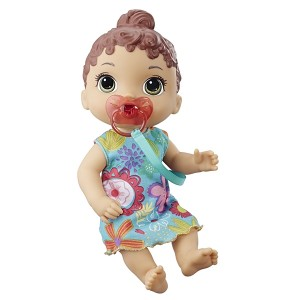 BABY ALIVE-BY LIL SOUNDS BRN HAIR