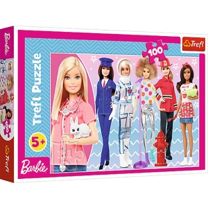TREFL-100 PC PUZZLE BARBIE
