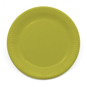 ECO COMP IND LGREEN PAPER PLATES LARGE 23CM 8CT