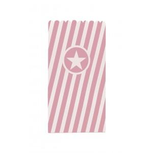 POPCORN BAGS PAPER PINK 6 CTP