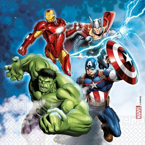 ECO AVENGERS FIGHT COMPOST 3PLY PAPER NPKINS  20CT
