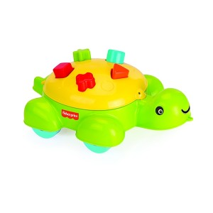FISHER PRICE TURTLE SHAPE SORTER 5 PC