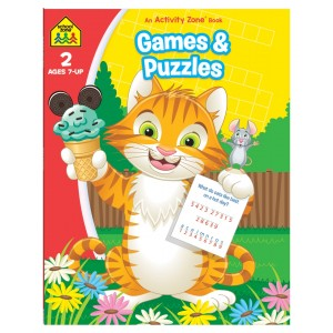 WORKBOOKS-GAMES AND PUZZLES
