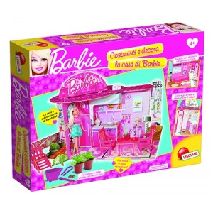 BARBIE BUILD AND DECORATE MY GREEN HOUSE