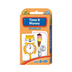 FLASH CARDS-TIME AND MONEY - FLASH CARDS