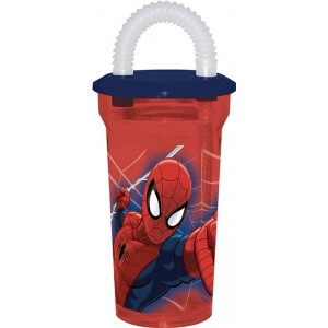 SPIDER-MAN GO FLEXIBLE STRAW TUMBLER
