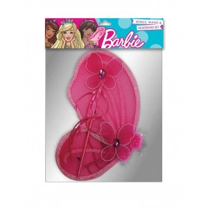 BARBIE WING; WAND & HEADBAND SET 1CT