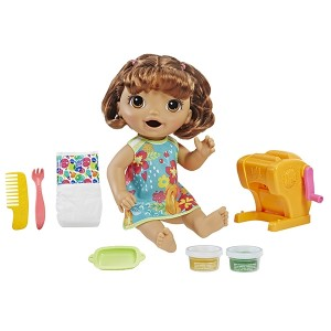 BABY ALIVE-SNACKIN SHAPES BABY BRN HAIR