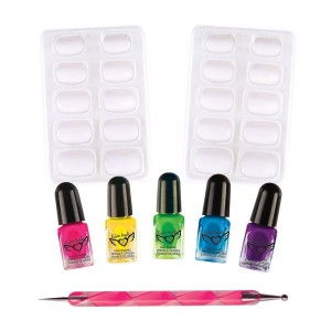 FASHION ANGELS COSMETICS & KITS TIE DYE NAILS KIT