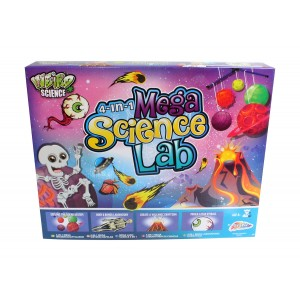 WEIRD SCIENCE 4 IN 1 BOYS MEGA SCIENCE LAB