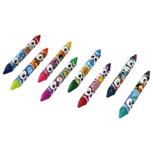 SCENTIMALS 8 SCENTED DOUBLE END JUMBO CRAYONS ASST