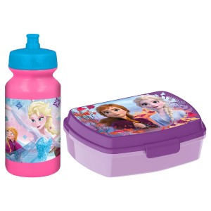 FROZEN FUNNY SBOX AND PUSHUP SPORTS BOTTLE 340ML