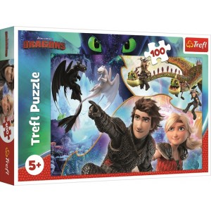 TREFL-100 PC PUZZLE HOW TO TRAIN YOUR DRAGON