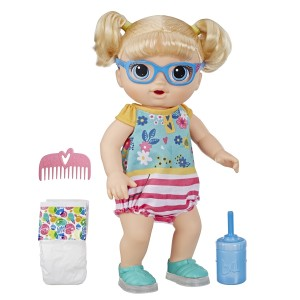 BABY ALIVE-STEP GIGGLE BLD