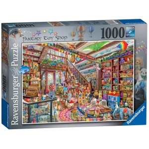 1000PC PUZZLES-THE FANTASY  TOY SHOP