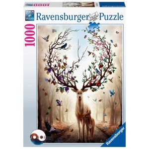 1000PC PUZZLES-MAGICAL DEER