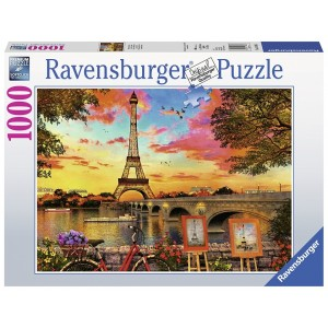 1000PC PUZZLES-THE BANKS OF SEINE