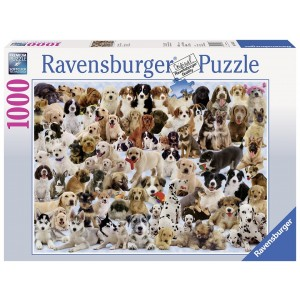 1000PC PUZZLES-DOGS GALORE