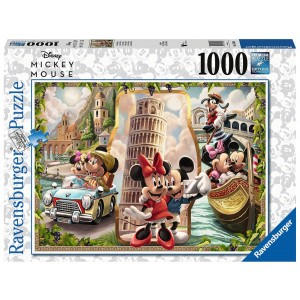 1000PC PUZZLES-MICKEY & MINNIE VACATION
