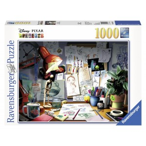 1000PC PUZZLES-THE ARTISTS DESK