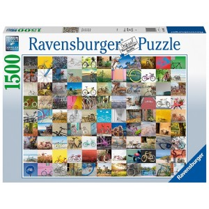1500PC PUZZLES-99 BICYCLES AND MORE...