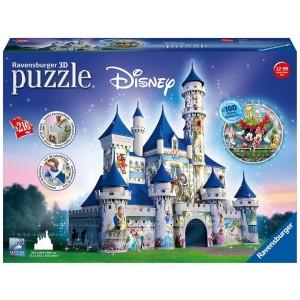 216PC 3D PUZZLE BUILDINGS-DISNEY CASTLE