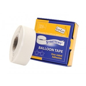CC STRETCHY BALLOON TAPE 19MMX7.6M ROLL 1CTP
