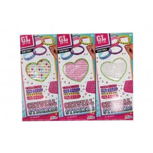 GL STYLE-DECORATIVE INDIVIDUAL STICKERS ASST