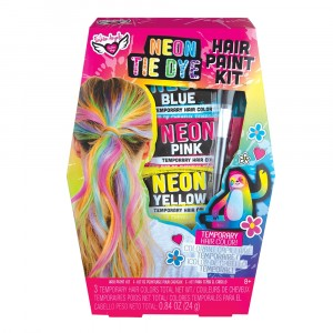 COSMETICS & KITS-NEON TYE DYE HAIR PAINTING KIT
