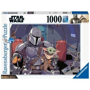 1000PC PUZZLES-MANDALORIAN